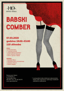 Babski Comber, Hotel Opera, Tarnowskie Góry