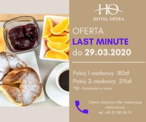 hotel opera tarnowskie góry oferta