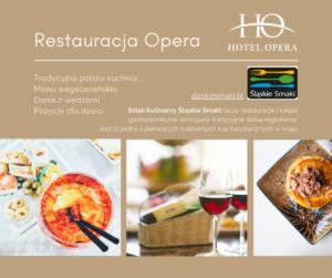 restauracja opera tarnowskie gory oferta
